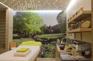 Встроенная подсветка потолка кухни