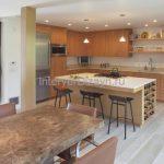 фото больших кухонь