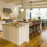 Большая кухня – большие возможности для дизайна интерьера