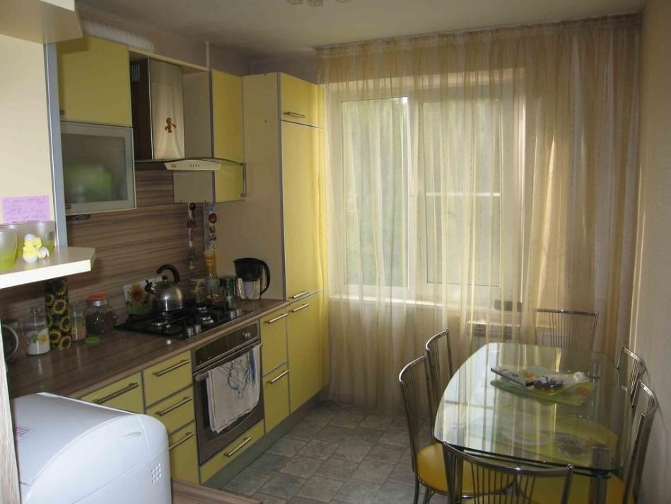 Дизайн кухни маленькой квартиры