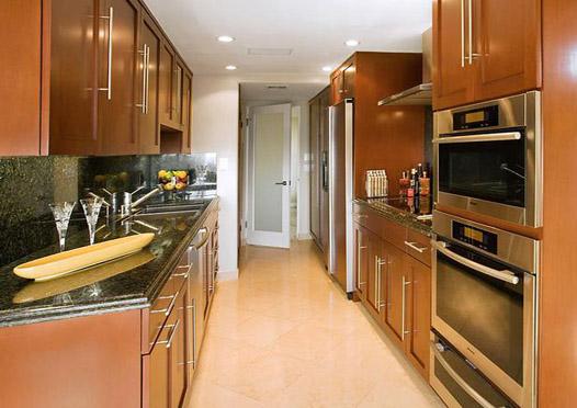 двурядная кухня фото