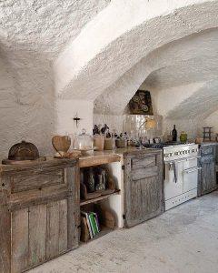 этно оформление кухонного пространства