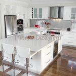 Основные правила создания дизайна для белых кухонь