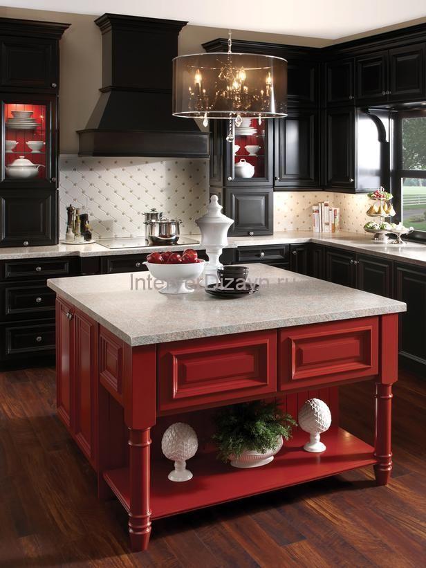 цвета кухонь