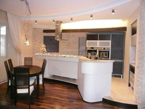 разделение кухни от комнаты