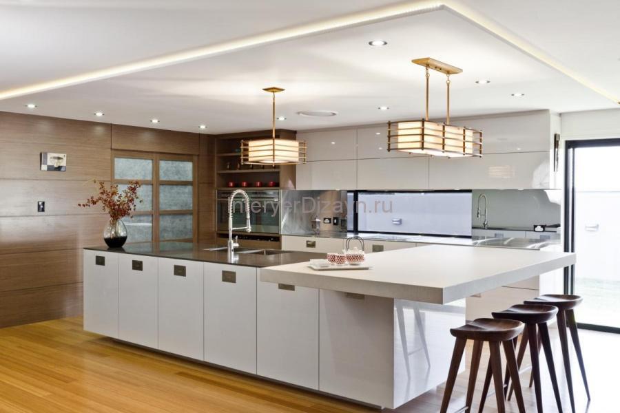 кухня студия освещение