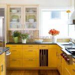 Цветовая гамма вашей кухни, влияет с разных сторон