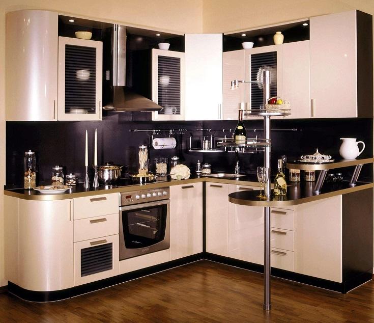 кухня с перламутром