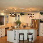 Большие кухни — варианты расположения мебели и бытовой техники