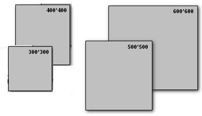 размеры плитки на пол