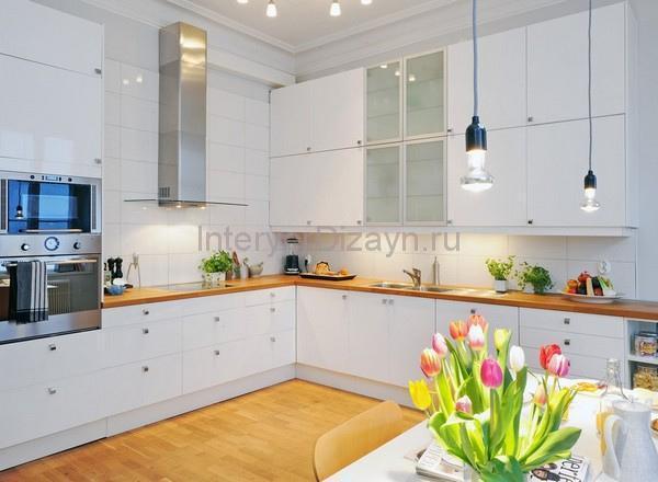 интерьер кухни в стиле скандинавского