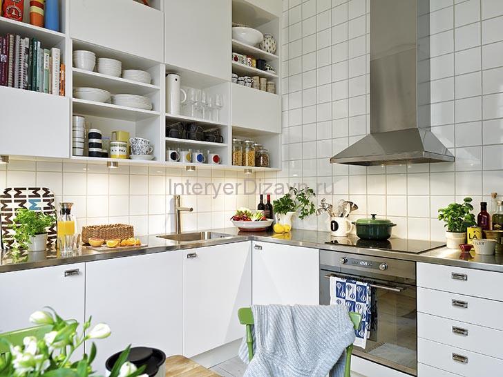 стиль кухни скандинавский