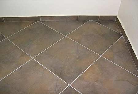 Укладка плитки на кухню на пол