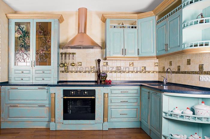Кухни в стиле прованс фото своими руками