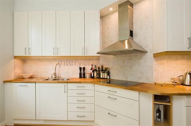 светлый цвет кухни