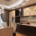Как сделать ремонт кухни 9 кв. м