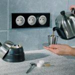 Правильно расположить розетки на кухне — где и сколько?