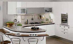 кухни 9 кв м стиль модерн