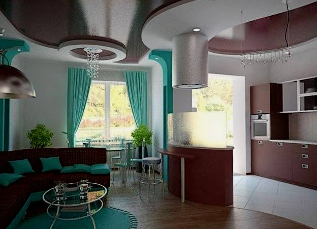 Интерьер кухни от дмитрия кобцева