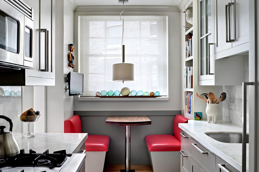 Дизайн кухни квадратной 10 кв м фото