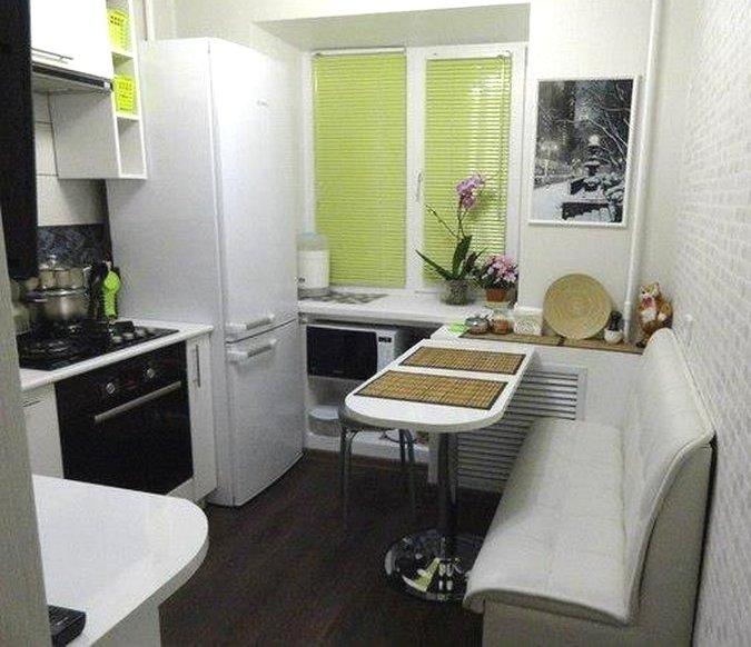 кухни 7 кв.м дизайн фото