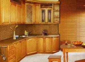 кухня 9 кв м классический дизайн