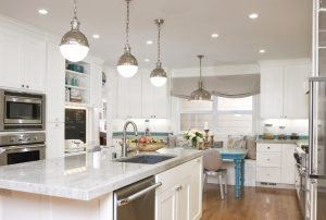 освещение на кухне по зонам