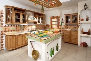 островная кухня варианты отделки острова