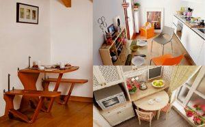 откидные и выдвижные столики для кухни