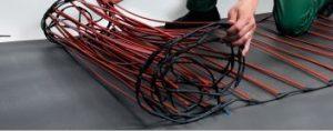 стержневой кабельный теплый пол