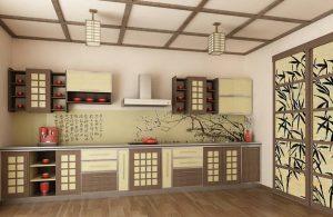 японский минимализм в кухне