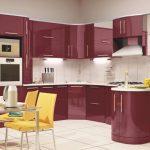 Бело бордовая или бордово белая кухня – как создать шик