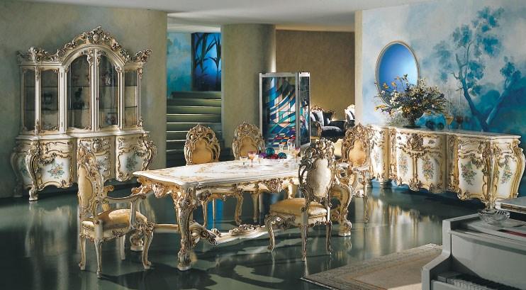 Декорирование кухни королей