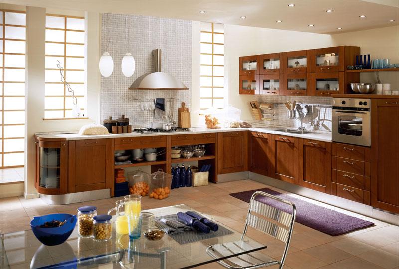 Декорирование кухни в европейском стиле