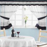 Выбираем красивые и яркие шторы на кухню