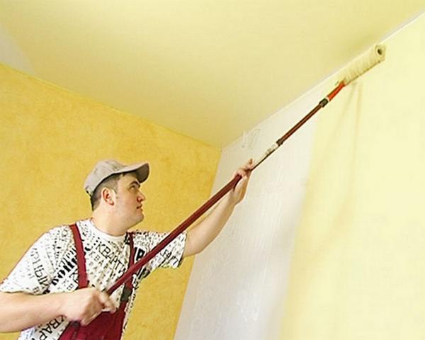 Как покрасить стены на кухне?