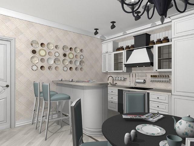 Особенности  кухни в стиле парижского кафе