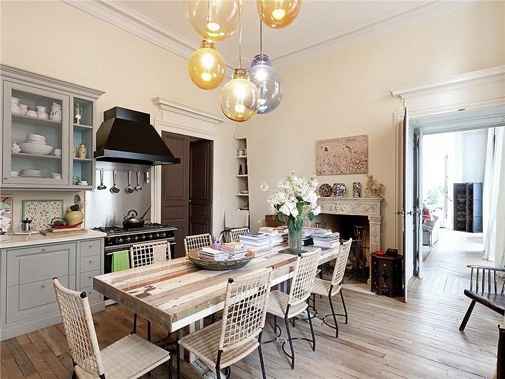 Освещение «парижской» кухни