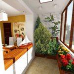 Объединение кухни с лоджией – решение проблем жизненного пространства