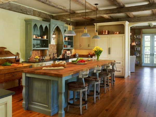 Мебель для кухни в стиле паба