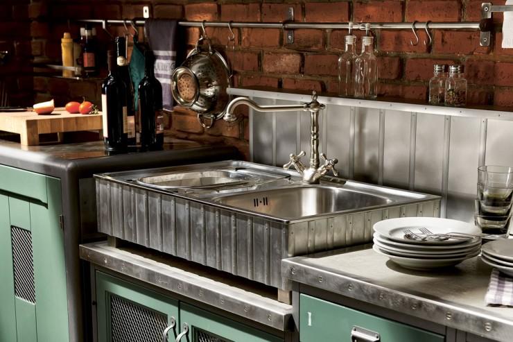 Особенности воплощения стиля лофт на современной кухне