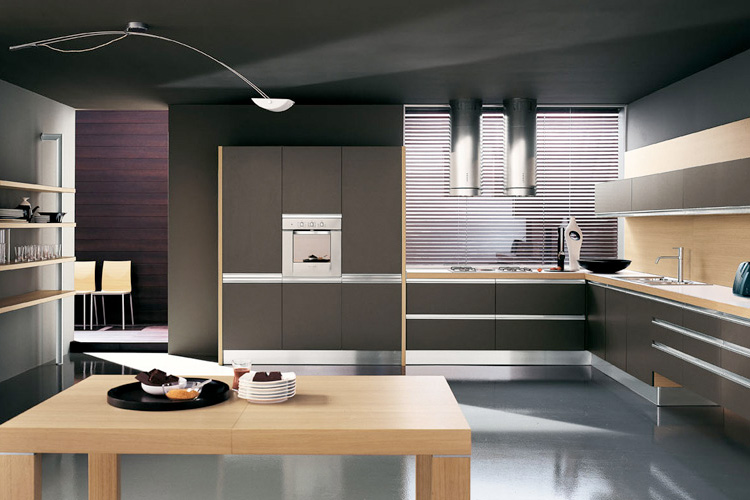 Стиль high-tech на кухне