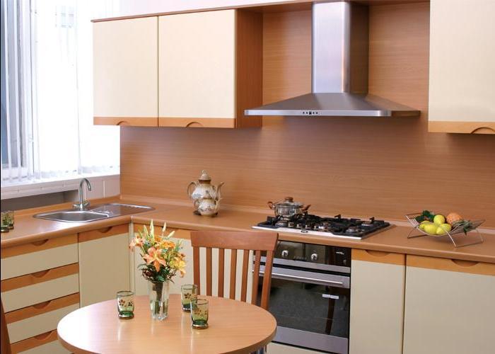 Классический дизайн в кухне 9 кв метров