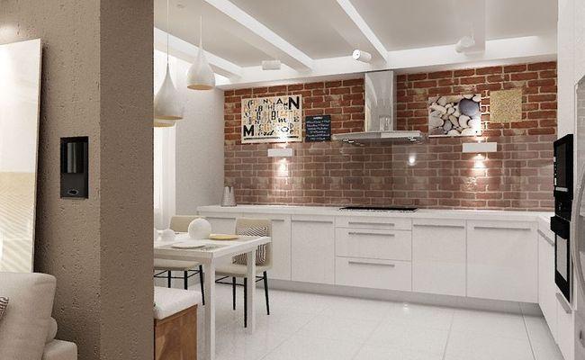 Восемь идей зонирования кухни