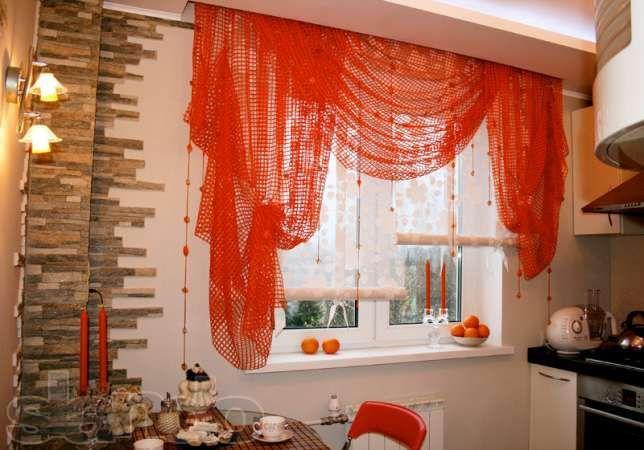 Выбор штор на кухню по функциональности