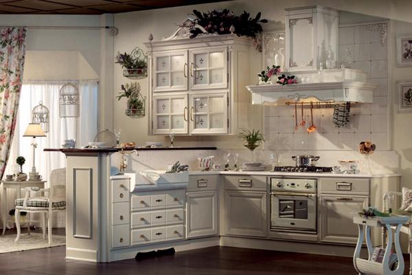 мебель прованс на кухню