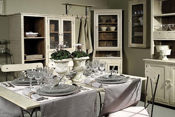 Романтический прованс на кухне
