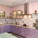 Оформление дизайна небольшой кухни в 7 квадратных метров