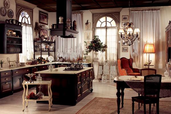 богатая кухня прованс