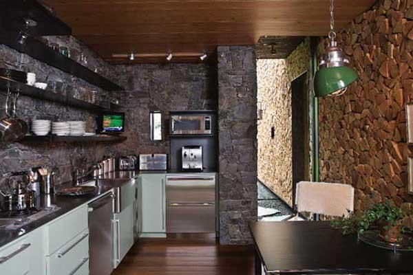 Двреной проем на кухню: отделка